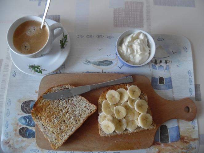 een lekker licht ontbijt, lief voor de darmen