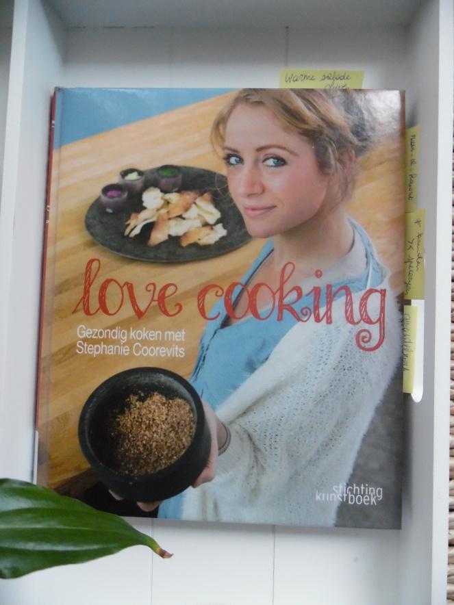 Boek: Love cooking - Stephanie Coorevits