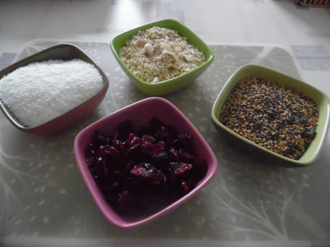 ingrediënten cranberry koekjes