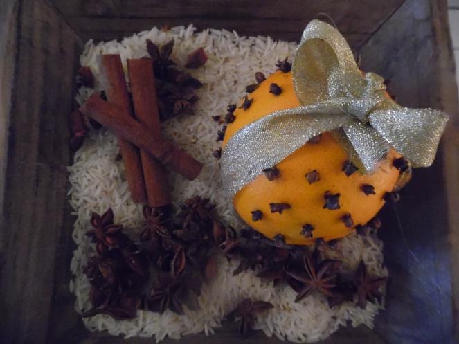heerlijk geurende citrus pomander