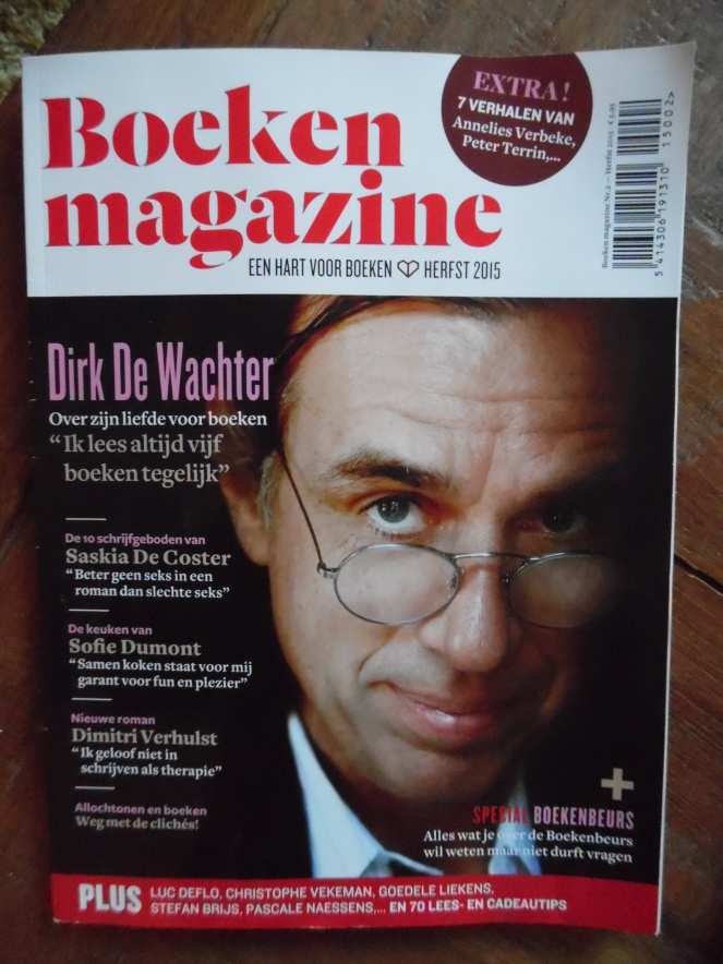 Boeken magazine (cover)