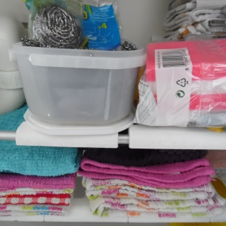 vaatdoeken en sponsjes: regelmatig verversen