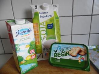 calciumhoudende produkten