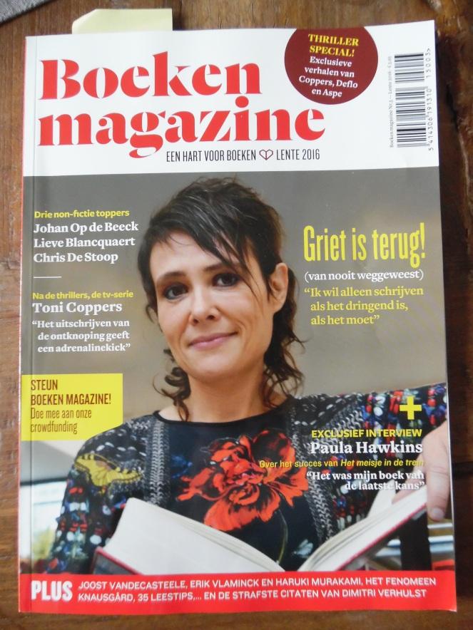 Boeken magazine - lente 2016
