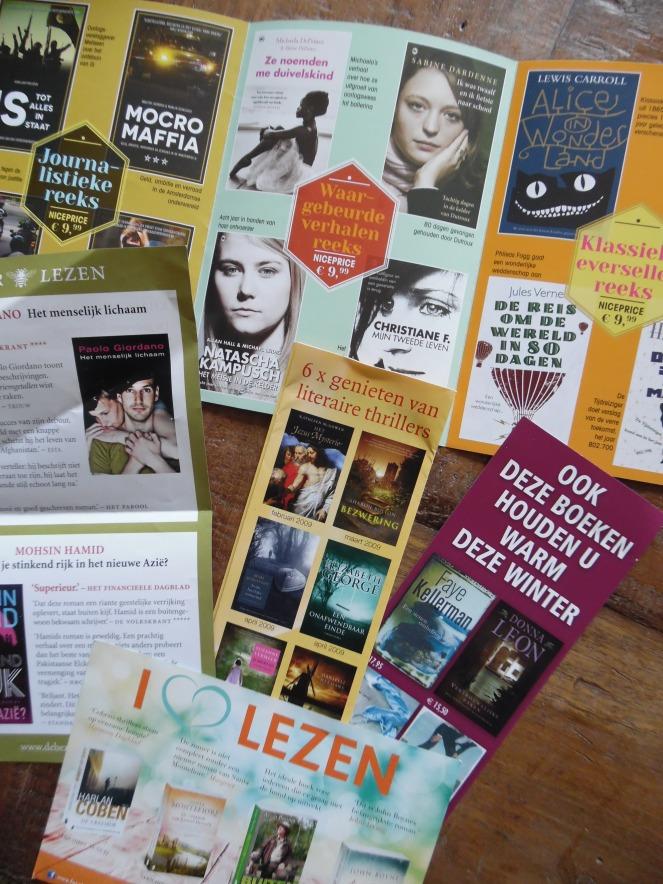 flyers voor leesinspiratie