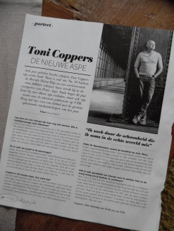 Steps magazine - interview met Toni Coppers