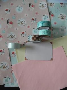 bijpassende washi-tape