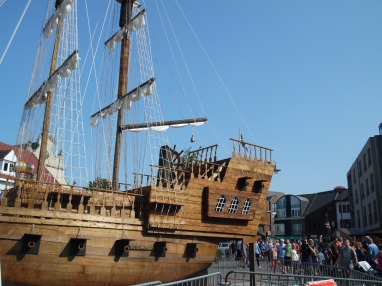 Roparun 2018 - piratenschip